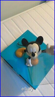 Extremely Rare! Walt Disney Mickey Mouse Demons Merveilles Figurine Frame Statue