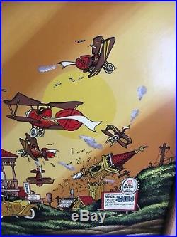 Fantasy Art DON ACETO ORIGINAL PAINTING Walt Disney Artist Air Show