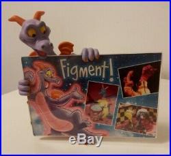 Figment Figurine Epcot IDEAS Frame Walt Disney World Theme Park Retired
