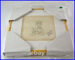 Framed 1940s Walt Disney Donald Duck Character Study by Ted Sears JL4