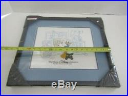 Framed Art Picture Walt Disney 1999 Donald Duck Cell Animation Gallery