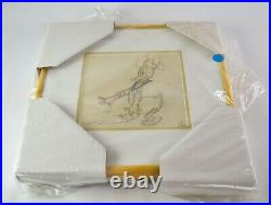 Framed Walt Disney Donald Duck Story Board Pre-Production Drawing JL19