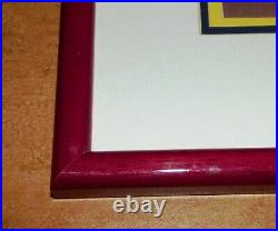 Framed Walt Disney Snow White and the Seven Dwarfs Limited Edition Sericel