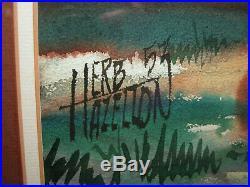 HERB HAZELTON Filmation Walt Disney SPIRIT Animation Comics Artist Painting 1957