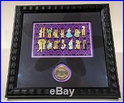Haunting Spells By Mike Sullivan Haunted Mansion Framed Pins Walt Disney World