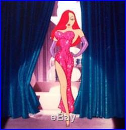Jessica's Rabbit Debut- Disney Cel from WHO FRAMED ROGER RABBIT LTD Edition