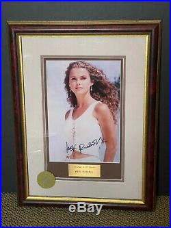KERI RUSSELL Signed Numbered Photo Walt Disney Authentic Certified FRAMED 13x17
