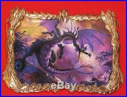 LE100 SUPER Jumbo Disney PinFrame Maleficent Dragon Prince Philip Acme Hot Art