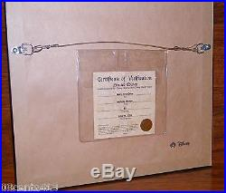 LE 50 Disney Artist WDW Resort Michelle Morrow Going For a Drive Pin & Frame