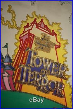 Large Walt Disney World Sign Used in Park! Backlit Acrylic Sign in Frame! RARE