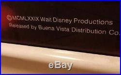Lillian Disney Mickey Mouse Disco 1979 Malibu Home Framed RETLAW Ent Walt Disney