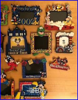 Lot of 23 Vintage Walt Disney World Photo Frames Magnets and 3 Magnets