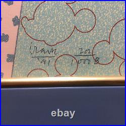 Michael Graves for Walt Disney MICKEY MOUSE Diptych Serigraphs Signed Ltd Ed