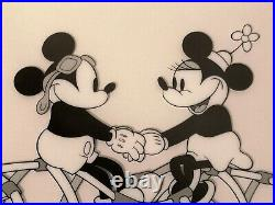 Mickey Mouse Minnie Mouse Serigraph The Mail Pilot Cel Limited Edition Disney