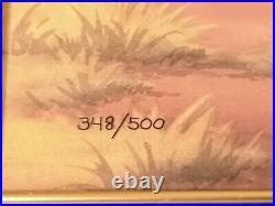 Mickey's Rival Cel Limited Edition Genuine Walt Disney Artwork Hand Painted Art