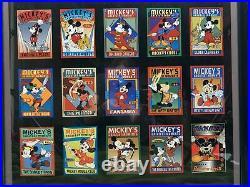 Mickeys Greatest Moments Framed Print Walt Disney Art Classics Rare