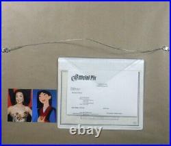 Ming NA signed on cel Disney sericel Mulan cel Beautiful Blossom New Frame