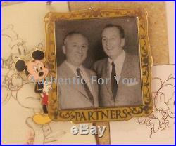 NEW Disney 2015 GenEARation D Event Walt Disney Four Pin Framed Set #19 LE 100