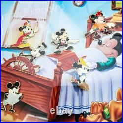 NEW Disney WDW It All Started with Walt Mickey's Dreams LE 100 9 Pin Frame Set