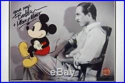 NEW Frame Profiles of Imagination Walt Disney & Mickey Sericel Shadows cel