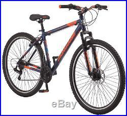 NEW Mongoose 29 Men's Exhibit Mountain Bike 21 Speed Aluminum Frame Shimano