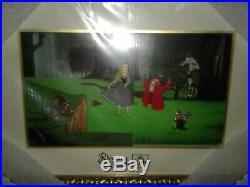 New Disney Parks Sleeping Beauty 60th Anniversary Framed Pin Set LE 1000