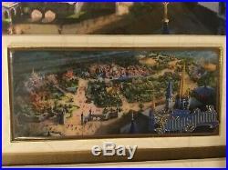 New Fantasyland D23 2011 Walt Disney Imagineering Framed Jumbo Pin Ltd Edition
