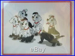 New! , Walt Disney's 101 Dalmatians Puppy Disguise, Sericel, Framed, Le/5000