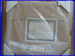 New! , Walt Disney's Winnie The Pooh And The Blustery Day, Sericel, Framed, Le/2500