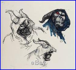 Original Artwork For The Black Cauldron Andreas Deja, Walt Disney Studios