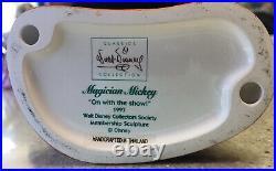 Original WALT DISNEY Mickey Mouse Fantasia 5000 Serigraph SeriCel Cel