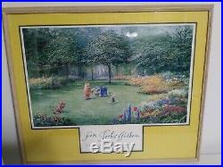 Peter Ellenshaw From Pooh's Garden Walt Disney Gallery Print Framed 32 x 27