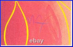 Peter Max Walt Disney Snow White Suite 4 Color Silkscreen Set Hand Signed Art