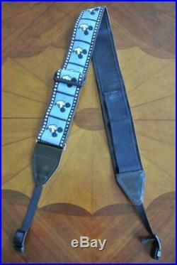RARE Camera Shoulder Neck Strap Vintage Walt Disney Mickey Mouse Face in Frame