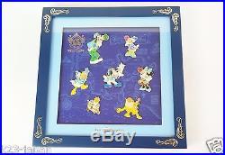 RARE! Tokyo Disney SEA 15th Anniversary Fun Club Limited BIG 8 Pin Frame