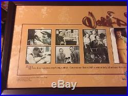 Rare 1997 Walt Disney World 25th Anniv Cast Member Framed Photo Ltd Ed 940/1000
