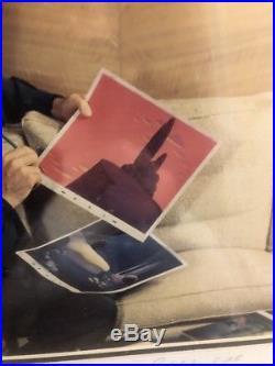 Rare Disney Limited Edition of 25 Early Walt Disney Photo Art Print Framed