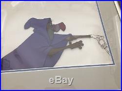 Robin Hood Vulture Disguise Walt Disney Company Original Production Cel Framed