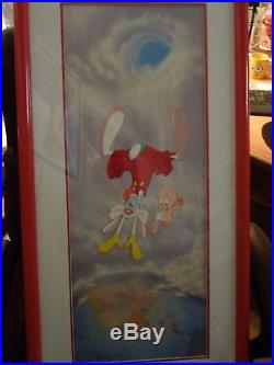 Roger & Baby Herman Who Framed Roger Rabbit Limited Edition Animation Cel Rare