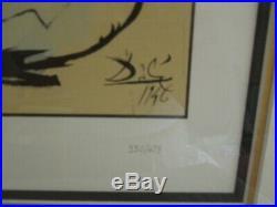 SALVADOR DALI & WALT DISNEY DESTINO Signed Limited Edition Serigraph No. 70