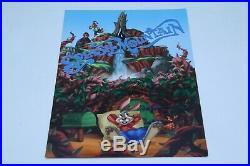 SPLASH MOUNTAIN Photo Folder Frame Tokyo Disneyland Walt Disney World Cool Art