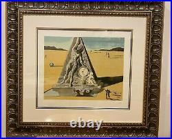 Salvador Dali Walt Disney Destino serigraph 58 270 of 475 framed 34x31