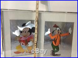 Set of 3 Vintage Walt Disney Prod. From Picture That Inc. Framed Dufex Prints