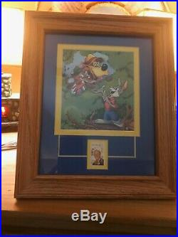 Song of the South Framed 10 x 12 Picture with Walt Disney Stamp