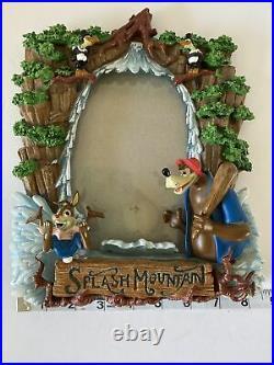 Splash Mountain Walt Disney World Picture Frame Brer Bear Brer Rabbit 3D NICE