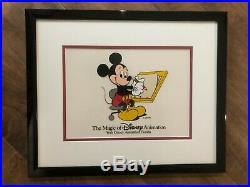 The Magic of Disney Animation Walt Disney Animation Florida Framed Mickey Cel