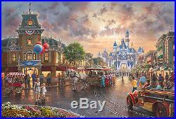 Thomas Kinkade Disneyland 60th Anniversary 18 x 27 LE S/N Canvas (Framed) Disney