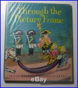 Through The Picture Frame Walt Disney 1944 First Ed Dj Little Golden Book