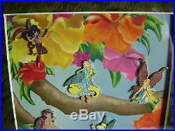 Tinker Bell and Fairies 6 Pin Disney Shopping Framed Set LE Frame Set