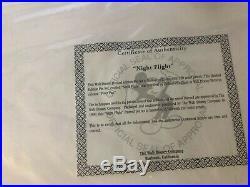Tinkerbell'Night Flight' Walt Disney LE Framed pin Set #1189/2500